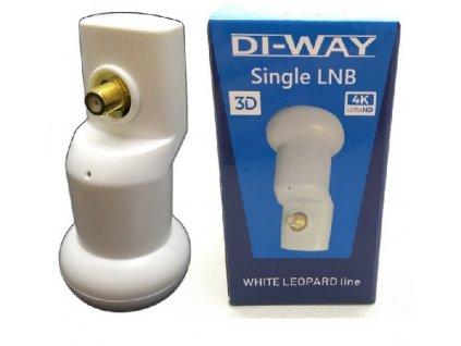 DI-WAY Single White Leopard 0,1dB