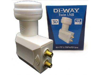 DI-WAY Twin White Leopard 0,1dB