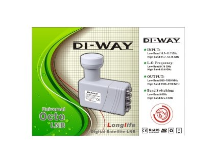 DI-WAY OCTO 0,1dB