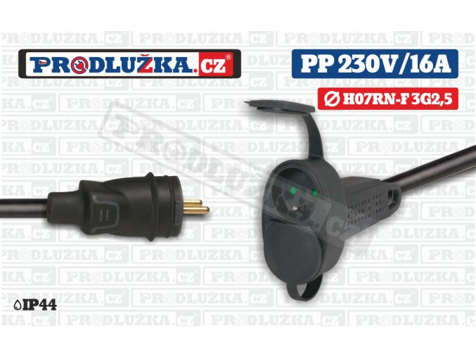 PP 230V 16A 2L