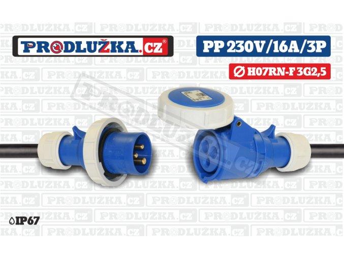 PP 230V 16A IP67