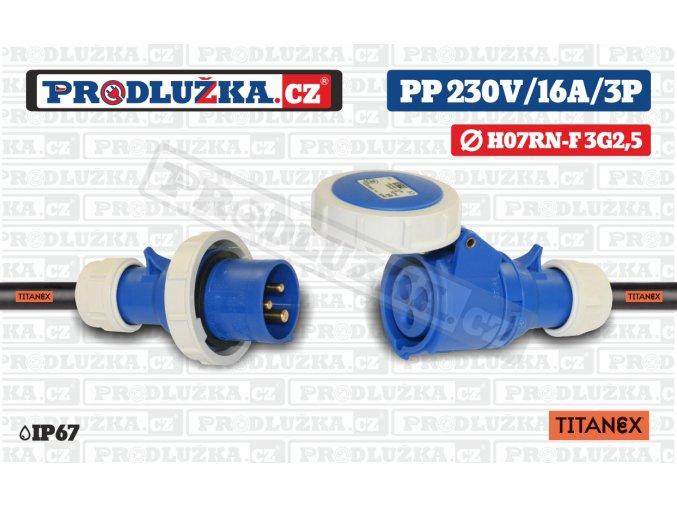 PP 230V 16A IP67 TITANEX