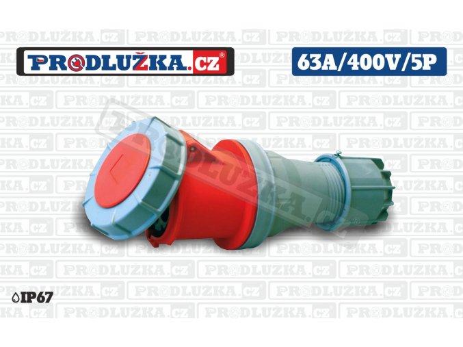 S 63A 400V 5P IP67