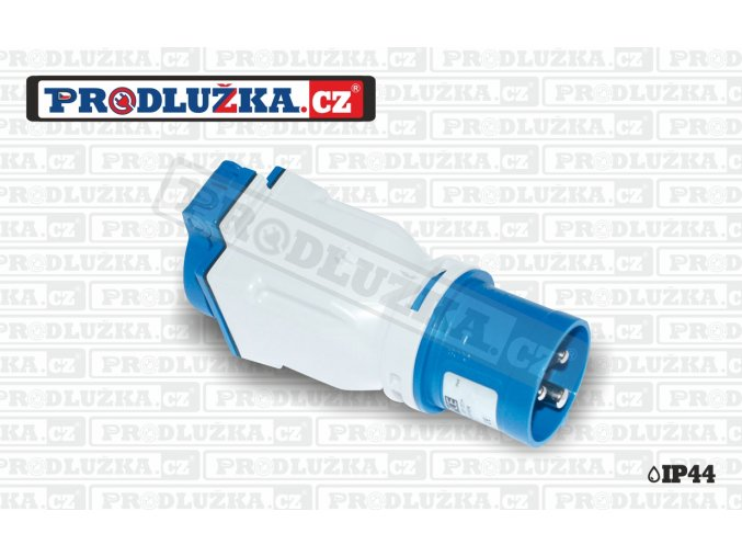 1x zásuvka CZ 230V/16A/3p-1x přívodka CEE 230V/16A/3p IP44