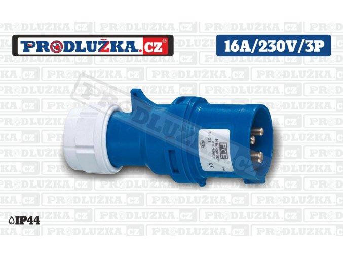vidlice 16A 230V 3P IP44