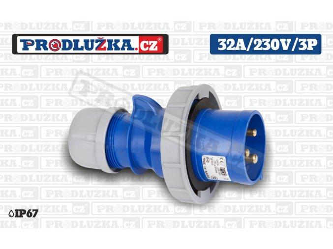 vidlice 32A 230V 3P IP67