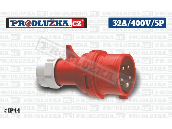 vidlice 32A 400V 5P IP44