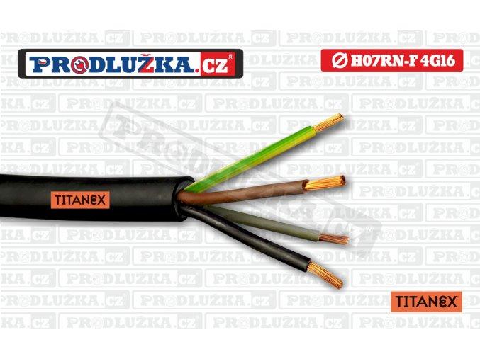 K 4G16 Titanex