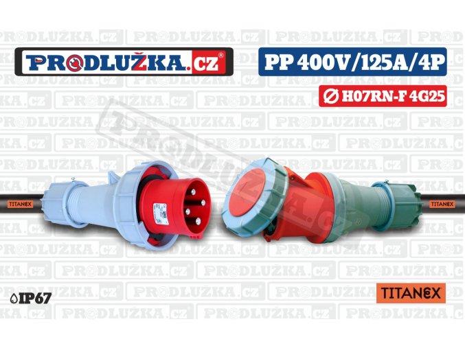 PP 400V 125A IP67 4P 25 TITANEX