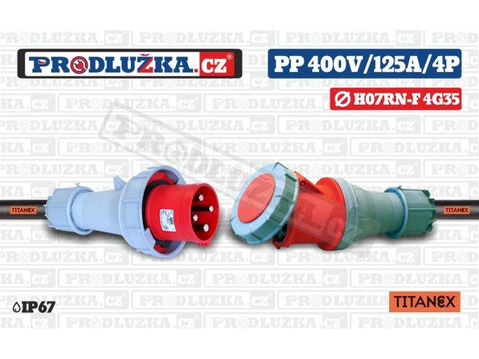 PP 400V 125A IP67 4P 35 TITANEX