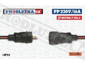 PP 230V 16A 1,5 TITANEX