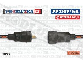 PP 230V 16A TITANEX