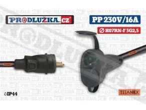 PP 230V 16A 2L TITANEX