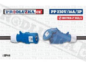 PP 230V 16A IP44