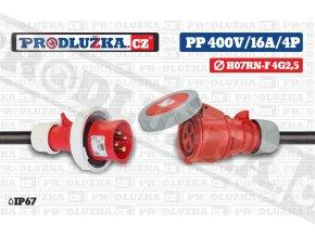 PP 400V 16A IP67 4P