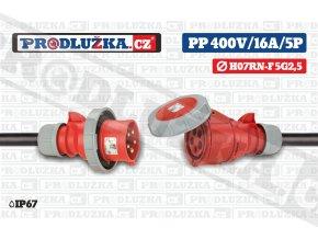 PP 400V 16A IP67 5P