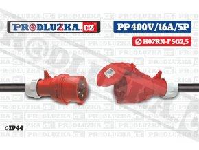 PP 400V 16A IP44 5P