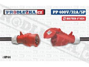 PP 400V 32A IP44 5P