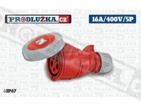 S 16A 400V 5P IP67