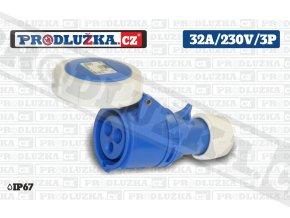 S 32A 230V 3P IP67