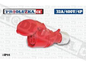 S 32A 400V 4P IP44