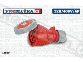 S 32A 400V 4P IP67