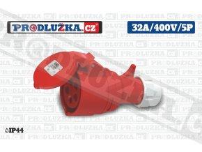 S 32A 400V 5P IP44