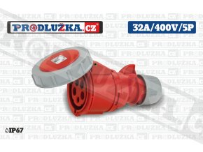 S 32A 400V 5P IP67