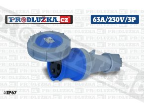 S 63A 230V 3P IP67