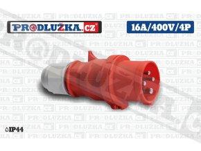 vidlice 16A 400V 4P IP44