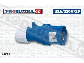 vidlice 32A 230V 3P IP44