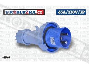 vidlice 63A 230V 3P IP67
