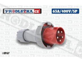 vidlice 63A 400V 5P IP67