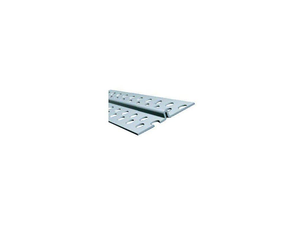 OMÍTNÍKOVÝ PROFIL PVC rozměr 8mm / 3m omítník