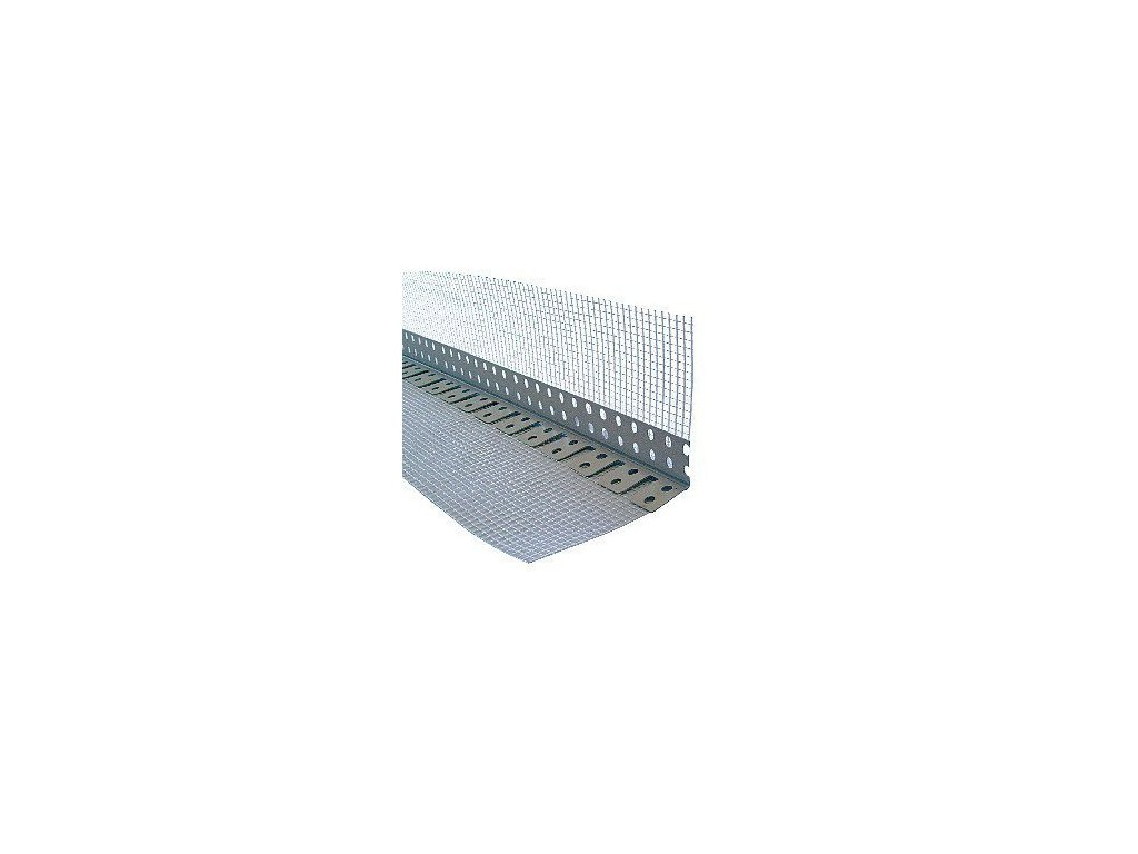 Klenbový roh PVC s tkaninou 2,5 m