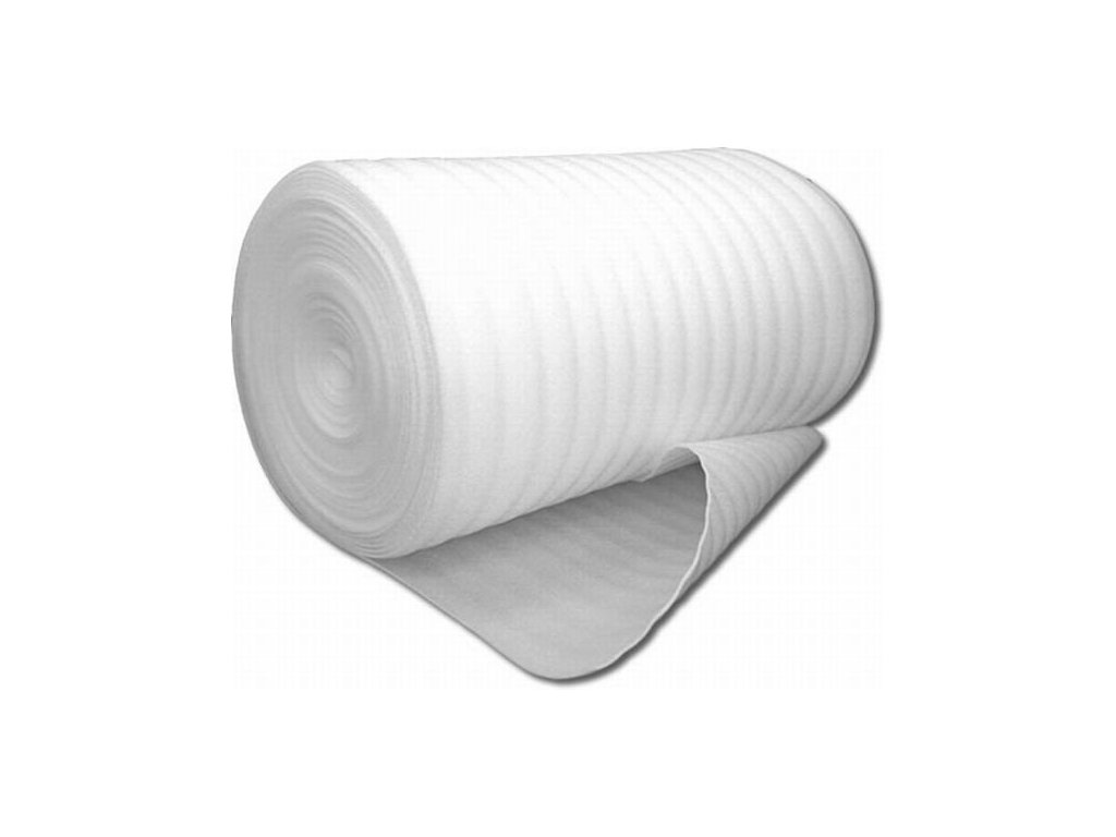 Kročejová izolace PE MIRELON tl. 8 mm (1,08x50m)