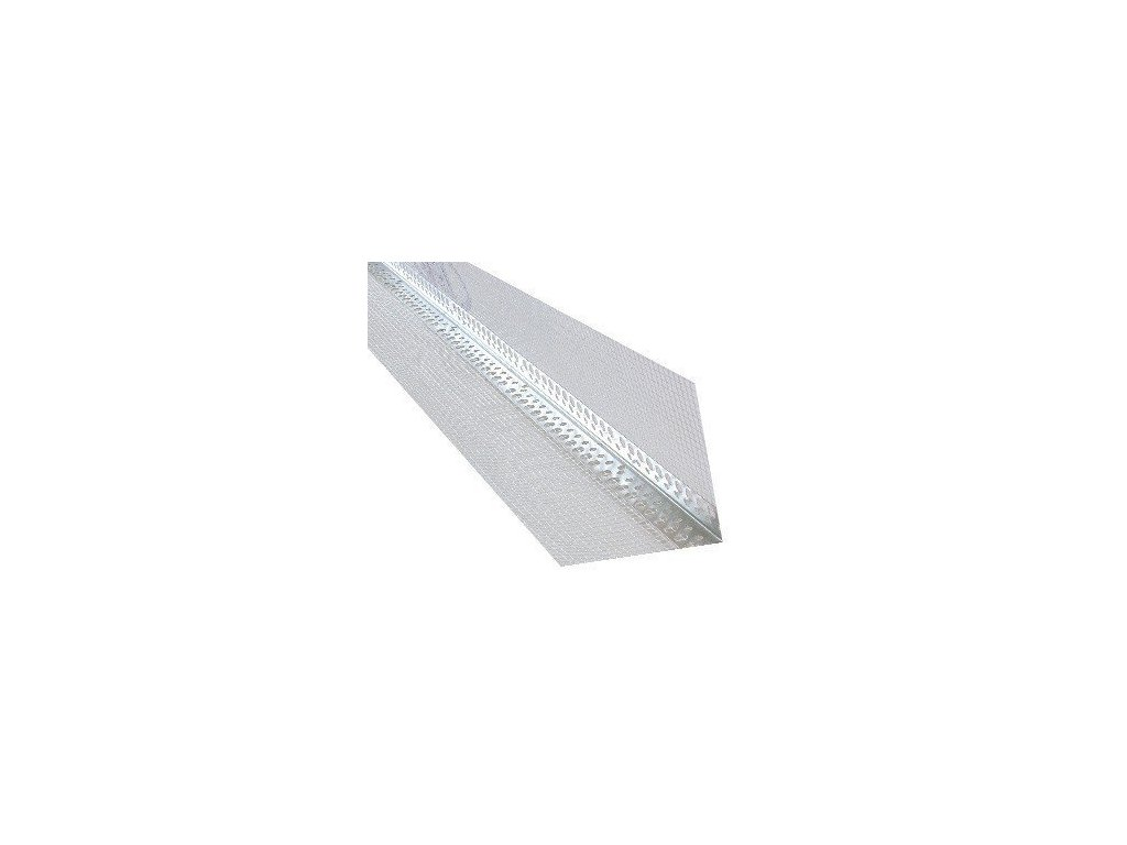 Rohová lišta AL HLINÍKOVÁ s vertex tkaninou 2 m (10x10)