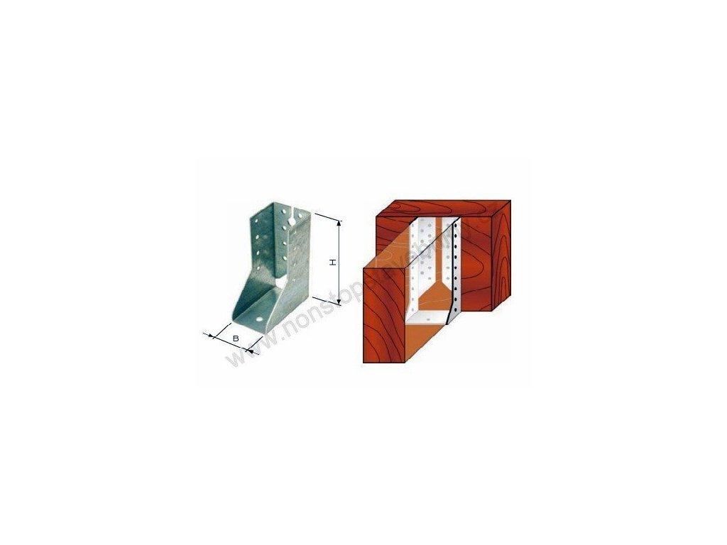Trámový nosník uzavřený vnitřní 90 x 145mm W-JHF vzpěry