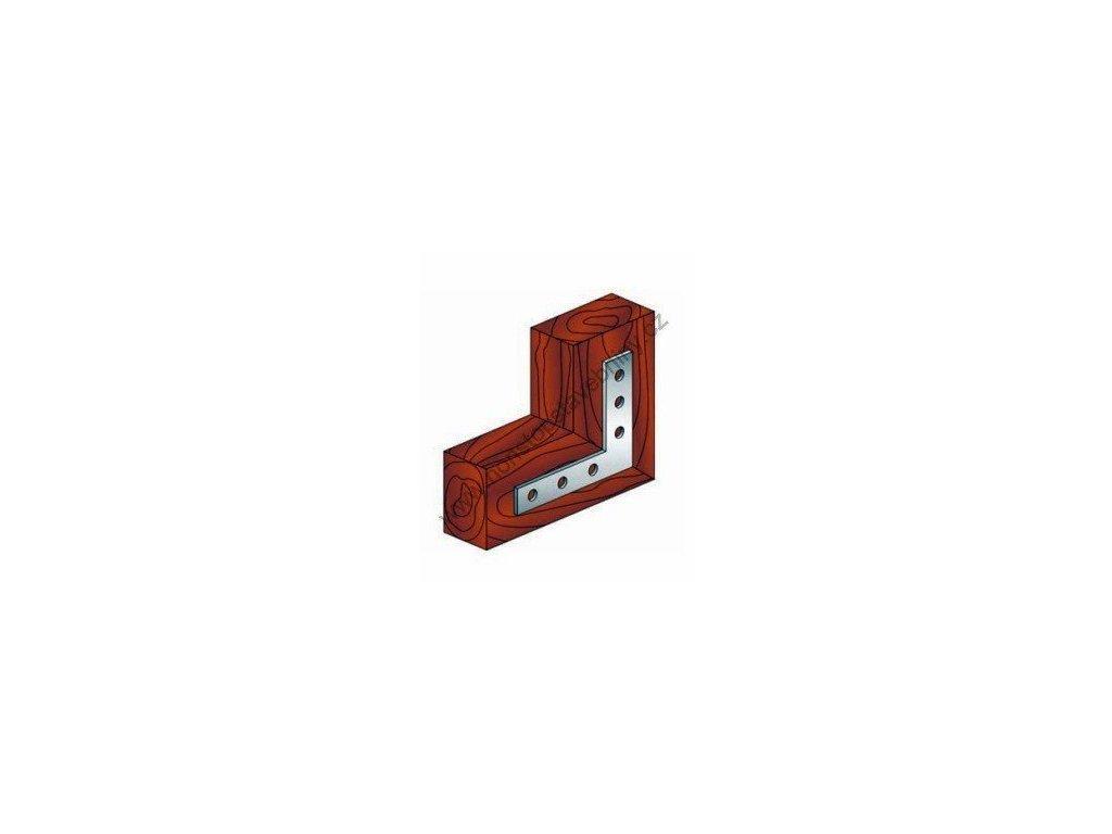 Úhelník plochý 60 x 60 x 15mm W-TS-L