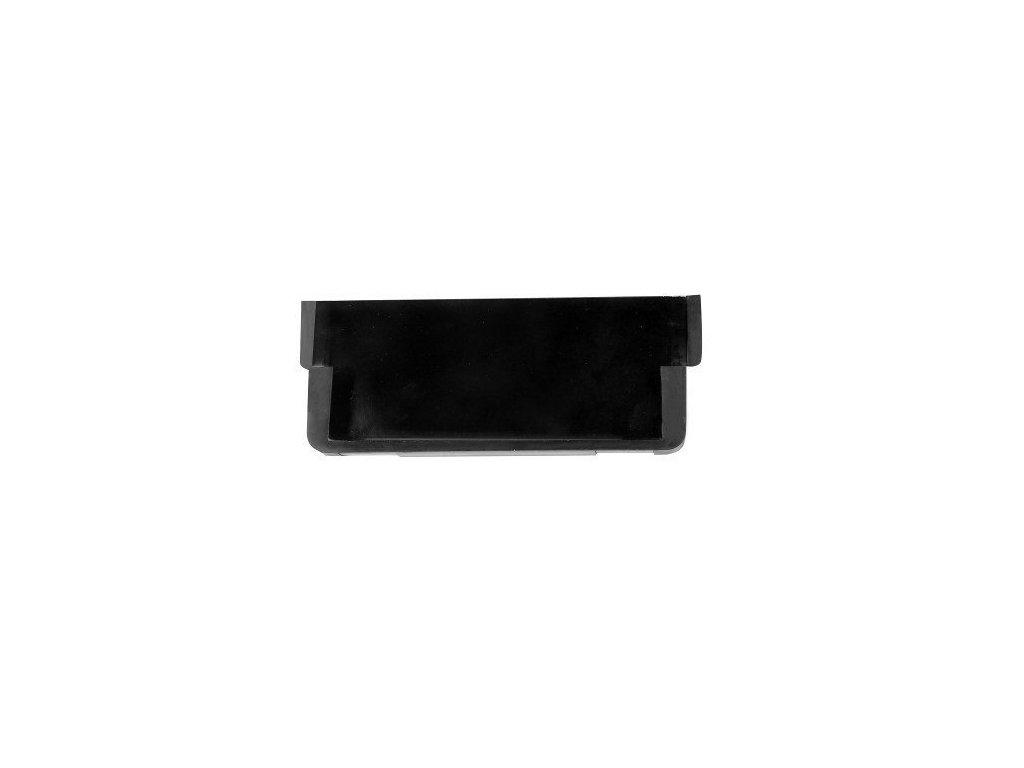 Koncovka žlabu záslepka pro odvodňovací žlab 125x50x4 mm