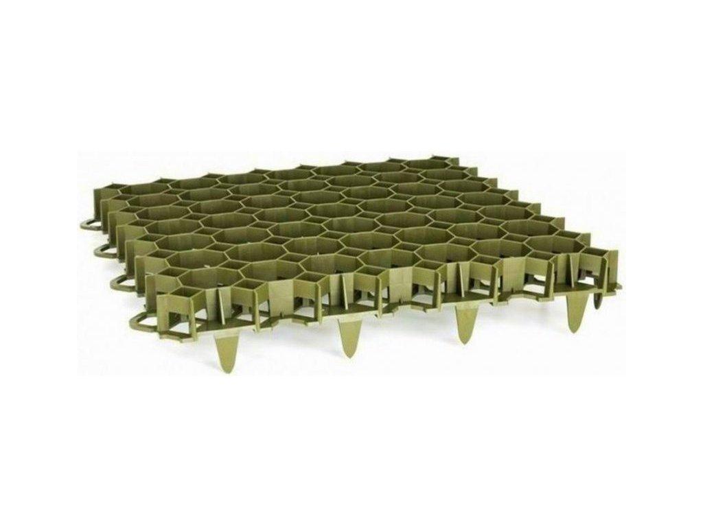 Zatravňovací dlažba venkovní 50 x 50 x 6,2cm zelená PROFI Garden VÝPRODEJ