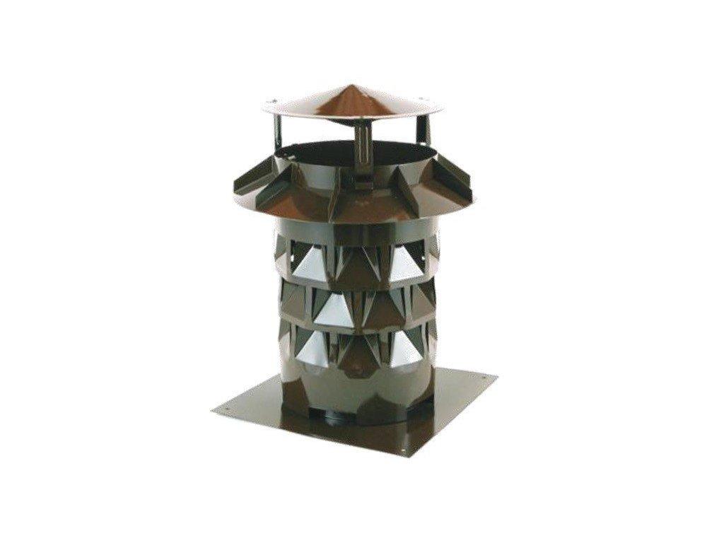 Komínový nástavec s podstavou EKON hlavice 200 mm