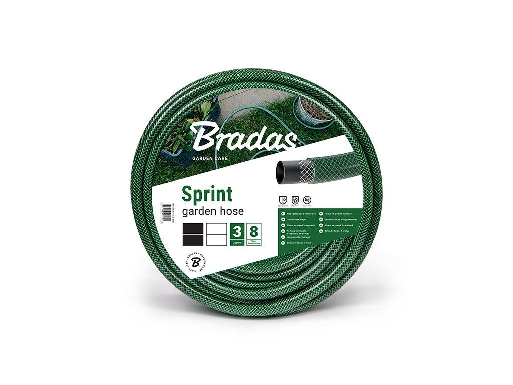 """Zahradní hadice 3-vrstvá 3/4"""" - 30m BRADAS SPRINT - zelená"""