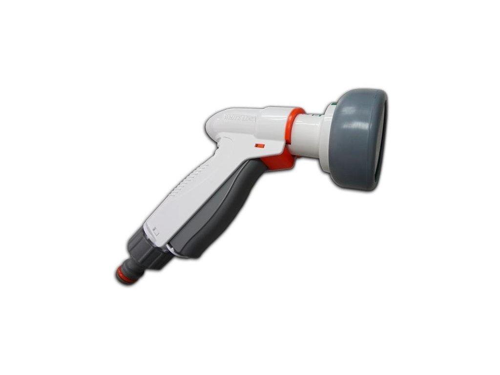 Nastavitelná stříkací pistolepro zahradní hadice WHITE LINE QUICK MULTI SPRAY