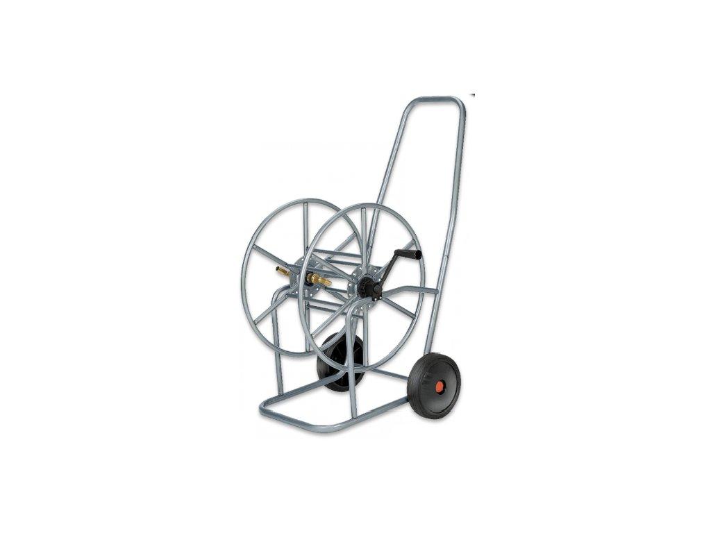 Vozík na hadici 3/4'' návin 80m nerezová ocel PRINOX