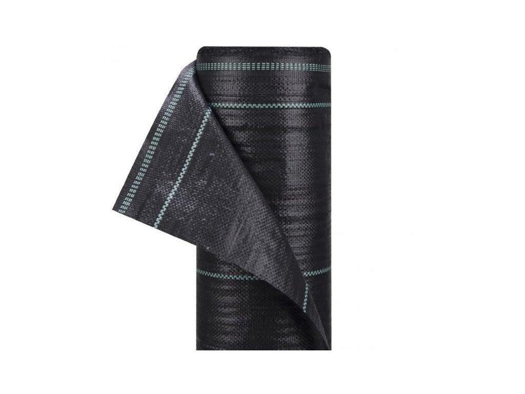 Tkaná textilie mulčovací s pruhy 0,8x100m tkanina (90g/m2)