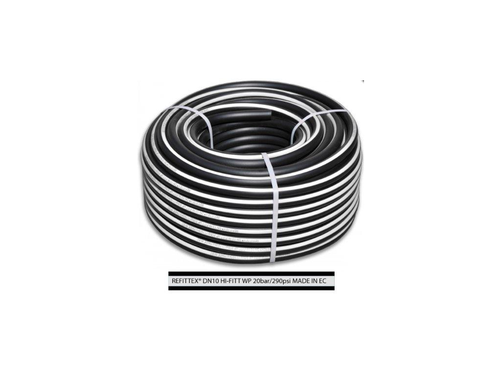 Vzduchová hadice technická pr.10mm, tl.15mm, d.50m (20bar)