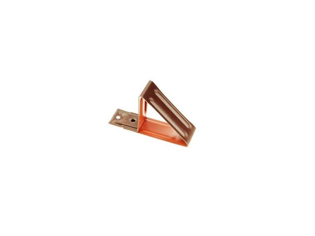 Protisněhový hák hnědý XBL 125mm (pro plechovou krytinu)