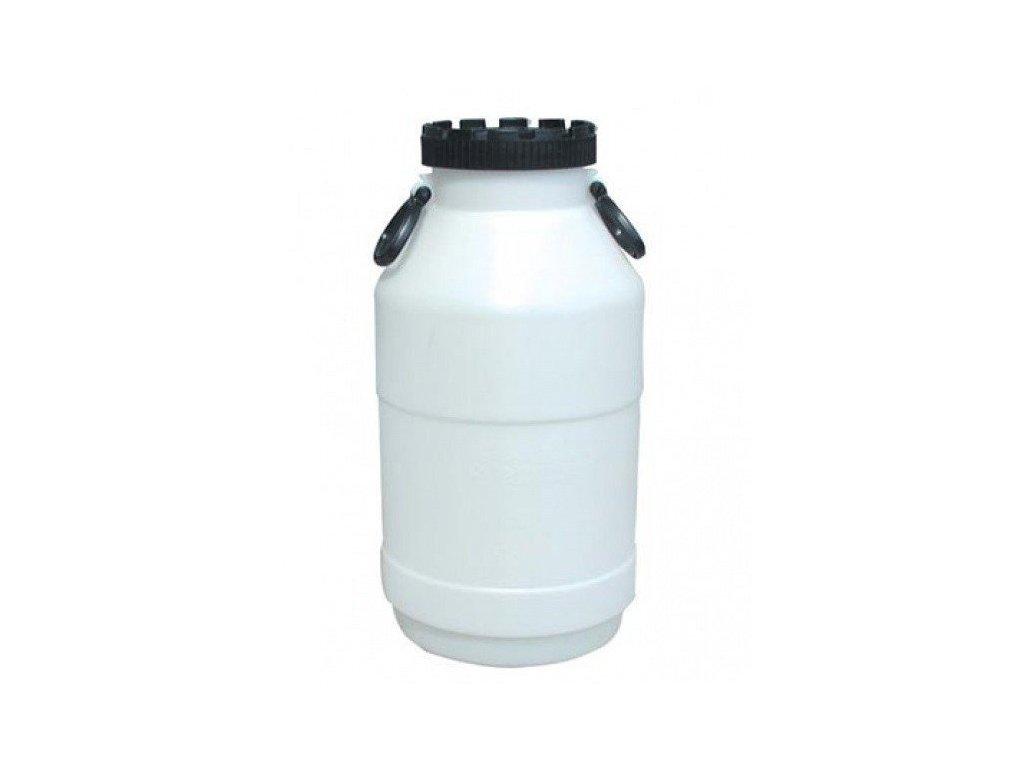 Plastový barel 50 litrů širokohrdlý