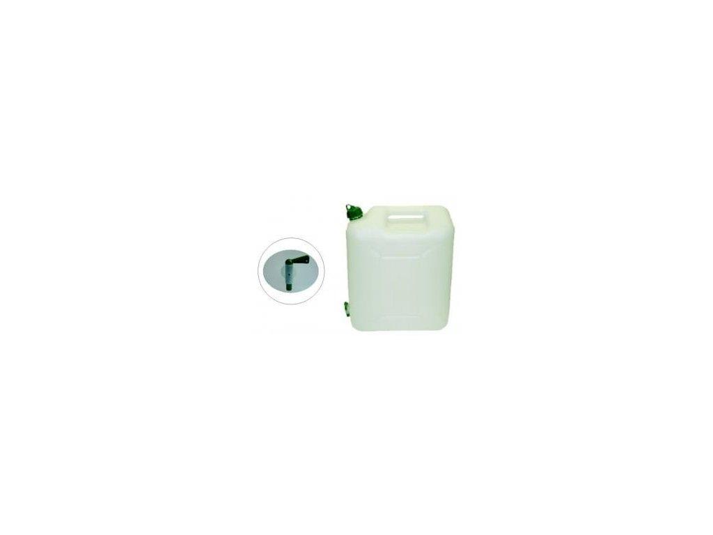 Plastový kanystr s kohoutkem 10 litrů na vodu